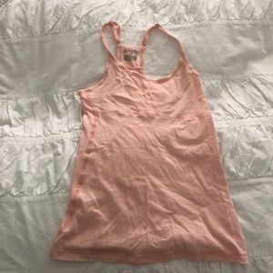 Pink Mossimo cotton tank top size small